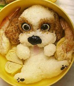 Cute rice dog