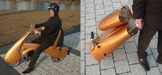 The foldable electric scooter can be collapsed and carried like a rolling suitcase