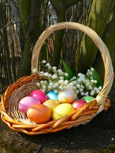 Ostern Wallpaper, Happy Easter Wishes, Easter Egg Designs, Easter Religious, Easter Parade, Vintage Easter, Easter Baskets, Easter Eggs, Wicker Baskets