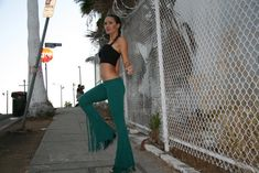 TURQUOISE FRINGE PANTS, bell bottoms, flares, pixie pants, boho, festival gear,goddess clothing, mermaid bell bottoms
