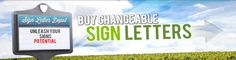 Find, Shop & Buy Sign Letters for Changeable Letter Signs