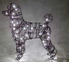 Poodle With Lights-The MeadowTree Journal: Poodle Time!-The Sculptural Poodle