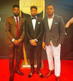 Men in suits!