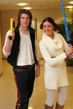 Hans Solo and Princess Leia costume ideas--classic! Visit //  sc 1 st  Pinterest & 25 best Han solo costume images on Pinterest | Han solo costume ...