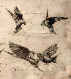obiekty - ptaki w locie niekoniecznie ale genialna faktura