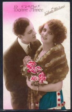 FB181-ART-DECO-COUPLE-MODE-Romantique-PHOTO-dART-KITSCH