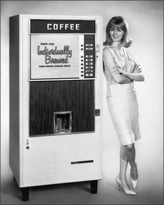 Coffee Vending Machine 1960s