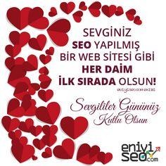 Sevginiz her daim ilk sırada olsun! #eniyiseo #valentine #valentineday #sevgililergünü