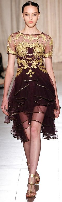 Marchesa - from one of their most cohesive and beautiful collections - ever!