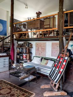 Casa-ateliê repleta de obras de arte em Minas Gerais