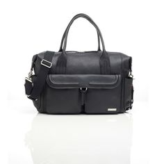 Charlotte Leather Diaper Bag