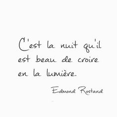 """It's a beautiful night to believe in the light. French Words, French Quotes, Words Quotes, Life Quotes, Sayings, Positive Mind, Positive Thoughts, Cool Words, Sentences"