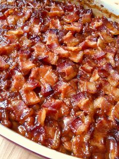Southern-Style Baked Beans and the TOP 10 Southern Thanksgiving Side Dish recipes A collection of the TOP 10 recipes for Southern Thanksgiving side dishes! Southern Style Baked Beans Recipe, Southern Recipes, Southern Thanksgiving Recipes, Southern Side Dishes, Southern Quotes, Vegetable Side Dishes, Vegetable Recipes, Low Carb Meal, Baked Bean Recipes