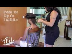 """How to Install Clip Ons - """"Collection Vintage Straight"""" by FAB Indian Hair Easy Makeup, Simple Makeup, Makeup Tips, Indian Hairstyles, Straight Hairstyles, Cod Liver Oil, How To Apply Foundation, Flat Iron, Lip Colors"""
