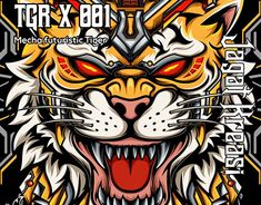 Tiger Illustration, Graphic Design Illustration, Tigger, New Work, Adobe Illustrator, Disney Characters, Fictional Characters, Wildlife, Behance