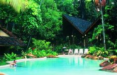 I need a vacation. Swimming Pool Pictures, Cool Swimming Pools, Cool Pools, Beautiful Pools, Beautiful Places, Simply Beautiful, Wade In The Water, Daintree Rainforest, Need A Vacation