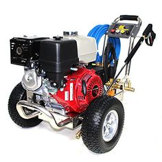 B4013HGS 4000psi 389cc Honda GX390 Petrol Powered Pressure Washer