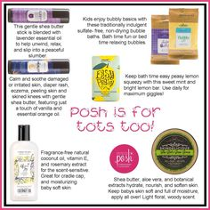 Perfectly Posh is great for kids, too!