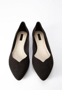 la ballerine, chaussures noires en velours