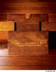 Louis Kahn//wood//detail