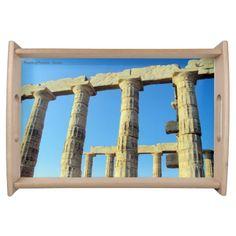 Temple of Poseidon - Sounio Serving Platter