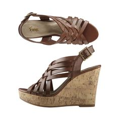 My FAVORITE Fioni wedge heels. I couldn't survive if these weren't in my closet. Wear them as often as i can. <3