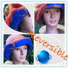 Blue & Orange by GlennaEclectic on Etsy