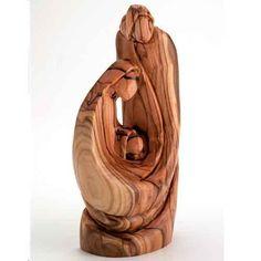 Olive Wood Holy Family Nativity - West bank