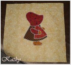 Sunbonnet Sue Patchwork, dekorace a doplňky do domácnosti :: Kathy
