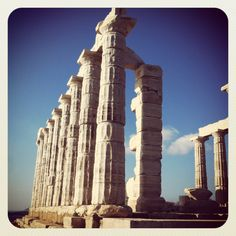 Temple of Poseidon #Sounio #Athens #Greece