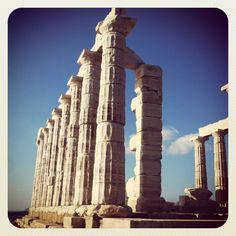 Temple of Poseidon #Sounio #Athens #Greece