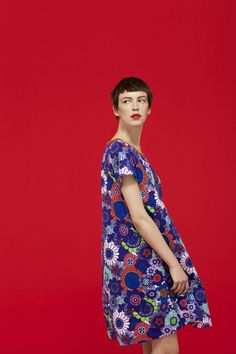 Marimekko Spring / Summer 2013 - I have just the vintage fabric for this, just need to over-dye