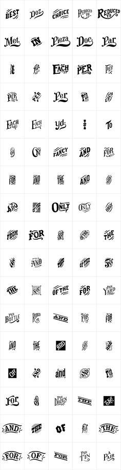 HWT Catchwords by Hamilton Wood Type Foundry - Desktop Font and WebFont - YouWorkForThem