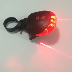 Cycling Bike light 5LED 2Laser 7 Flash Mode Bicycle Safety Rear light Bike accessories Laser Warning Lamp Flashing lamp light