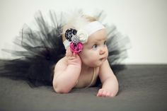 Win this beautiful baby headband from Petals by KC! Click on the photo for details.