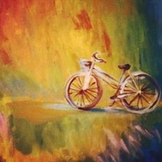 Rainbow Bike tonight! Rainbow Bike, Studio, Painting, Art, Art Background, Painting Art, Kunst, Studios, Paintings