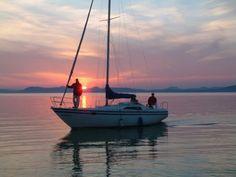 #Balaton #lake #Hungary Interesting Information, Sailing Ships, Travel Destinations, Around The Worlds, Boat, City, Beautiful, Vehicles, People