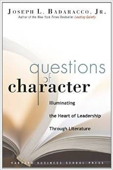 """Questions of Character"" rec'd by Inc.com's Best Leadership Books"