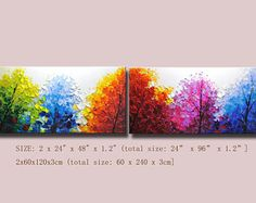 Original pintura abstracta pintura moderna textura empastes