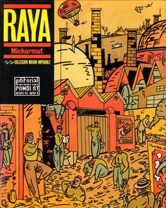 #Portada del álbum Raya, de Micharmut (Editorial Complot, 1985) #cómic