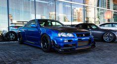 Nissan Skyline R-34 GTR from the Vancouver Autoshow [OC] [4403x2420] via Classy Bro