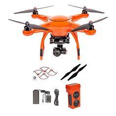 Autel X-Star Premium Drone W/ 4K Camera, Propeller Guards, Replacement Propellers & X-Star Battery (Orange) - http://www.midronepro.com/producto/autel-x-star-premium-drone-w-4k-camera-propeller-guards-replacement-propellers-x-star-battery-orange/
