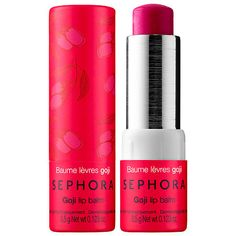 Sephora Collection Lip Balm & Scrub Goji oz/ g Gloss Labial, Sephora Lip, Lip Scrubs, Salt Scrubs, Sugar Scrubs, Body Scrubs, Natural Lip Balm, Natural Beauty, Tinted Lip Balm
