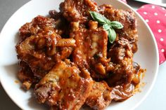 Spare Ribs, Polish Recipes, Aga, Chicken Wings, Slow Cooker, Food And Drink, Tasty, Beef, Dinner