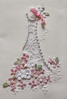 Pontura Cards with punched flowers