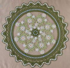 Doily No.2 tat-Garland - tatting lace, Marmelo