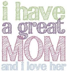 Mothers day is just around the corner-  I wonder if I will get 3 cards this year??? Hint - Hint