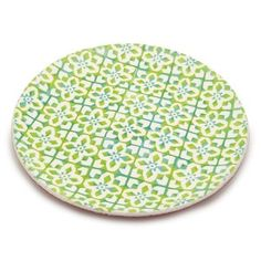Granada Charger Plate 35.5cm Green D1 Front