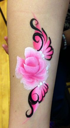 Face Art By Melissa Munn » Face & Body painting in the NYC area » Arm Art