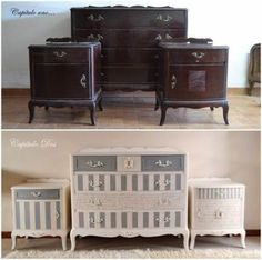 Home design vintage paint colors 52 trendy ideas – Home Renovation Funky Painted Furniture, Rustic Wood Furniture, Refurbished Furniture, Paint Furniture, Repurposed Furniture, Shabby Chic Furniture, Furniture Projects, Vintage Furniture, Furniture Movers